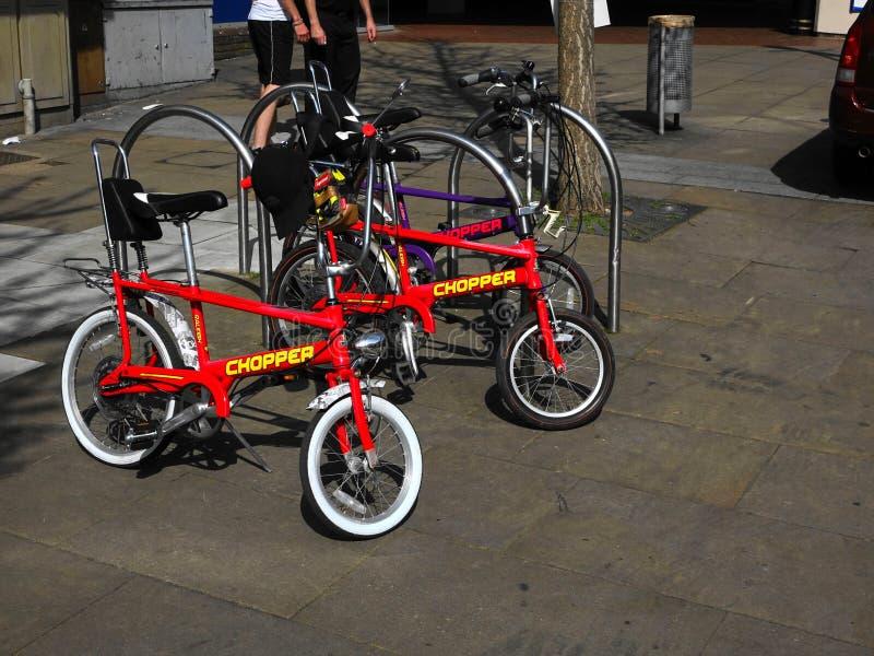 Raleigh Chopper Bike icônico imagem de stock