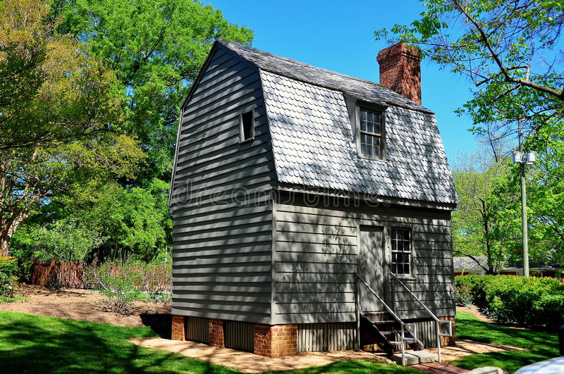 Raleigh, NC: President Andrews Johnson Birthplace stock foto