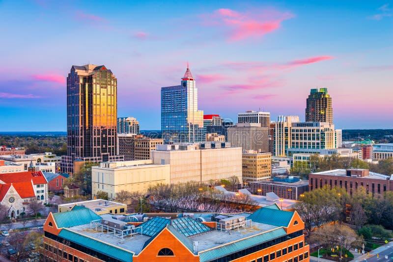 Raleigh, Noord-Carolina, de V.S. royalty-vrije stock foto's