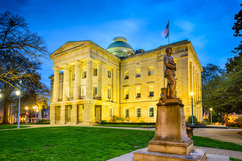 Raleigh State Capitol photos stock