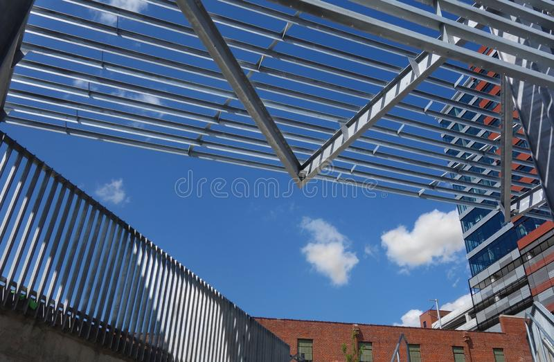 Raleigh Warehouse District royalty free stock image