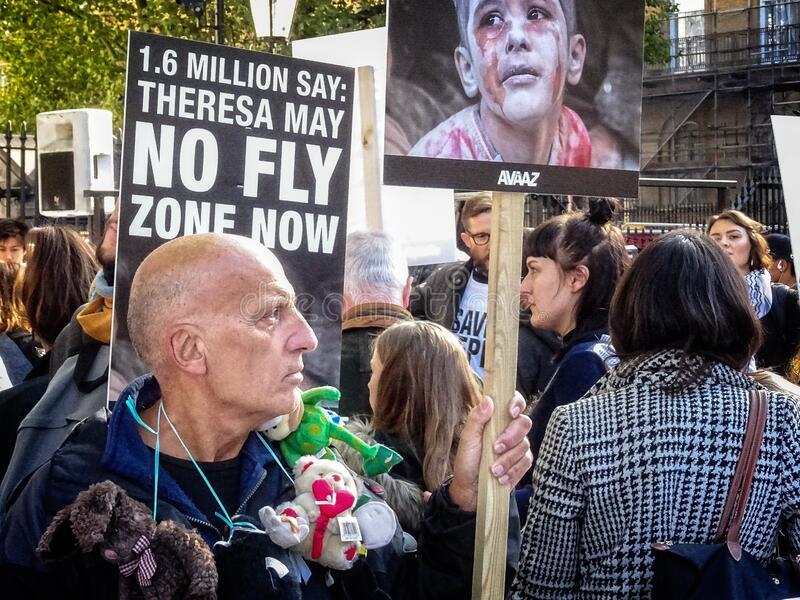 Rally For Aleppo - 04 Free Public Domain Cc0 Image