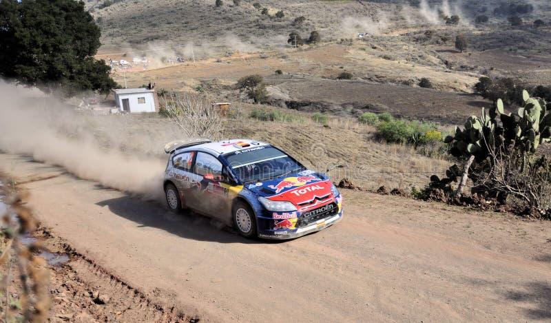 Rally Car Editorial Stock Image