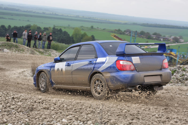 Download Rally car stock photo. Image of dirty, bumper, driving - 13878288