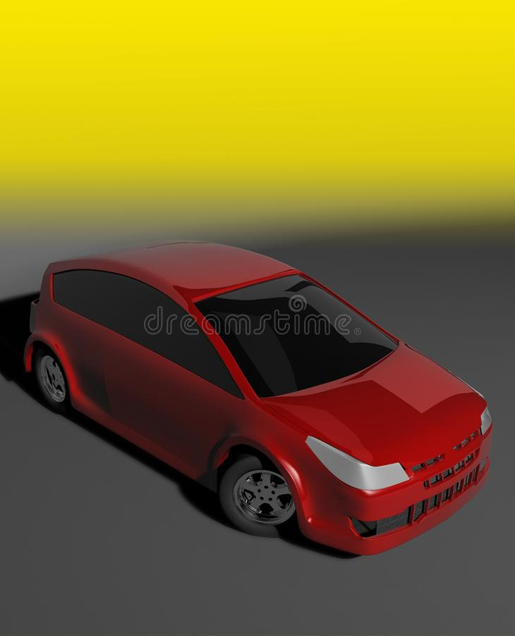 Download Rally car stock illustration. Illustration of auto, power - 15107485