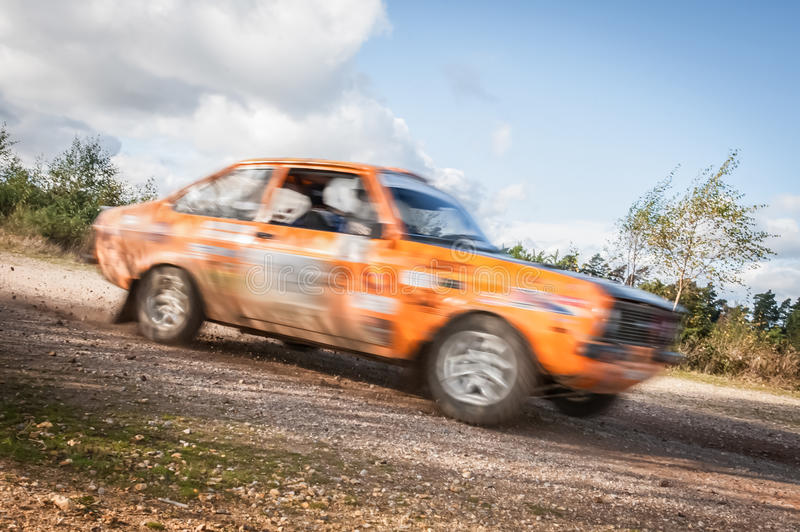 Rally Car Royalty Free Stock Image