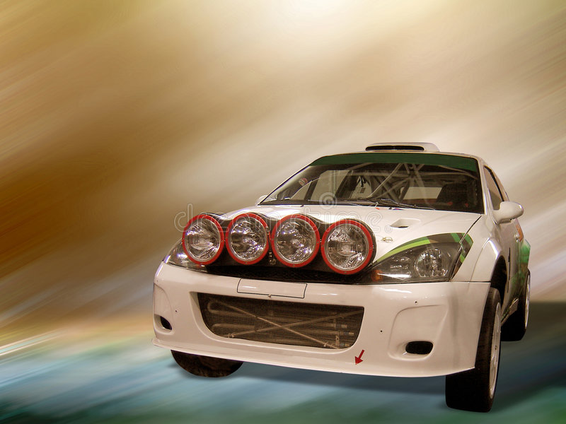 Download Rally Car stock photo. Image of light, racing, gradient - 51276