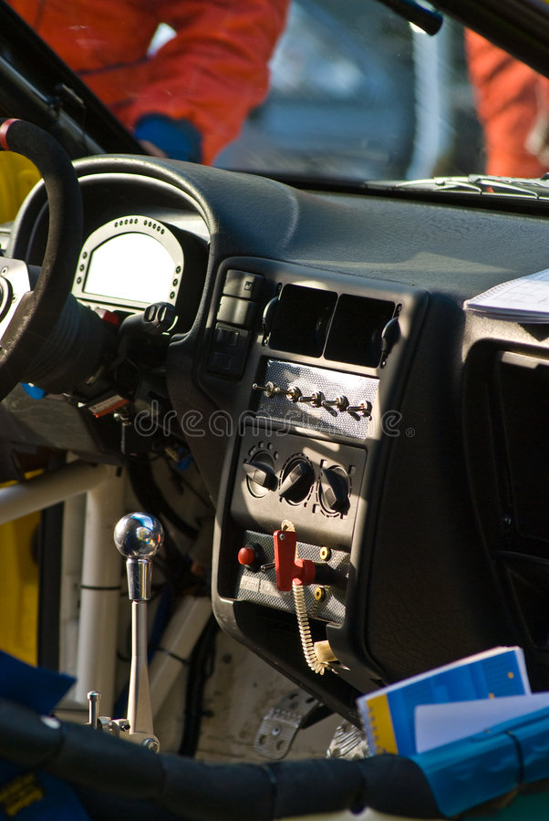 Download Rally car stock image. Image of minimal, instruments, lightweight - 5166589