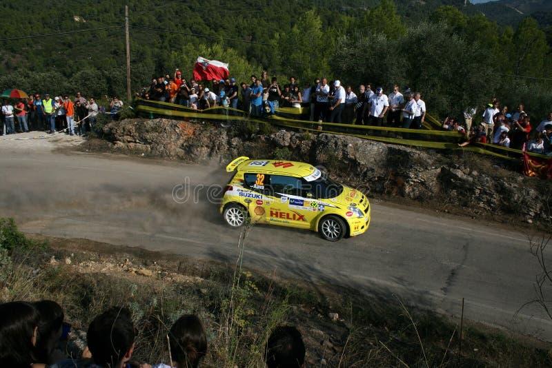 Rally car stock photography