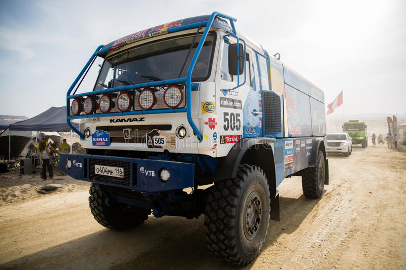 Download Rally Dakar 2013 Truck editorial photography. Image of extreme - 29470957