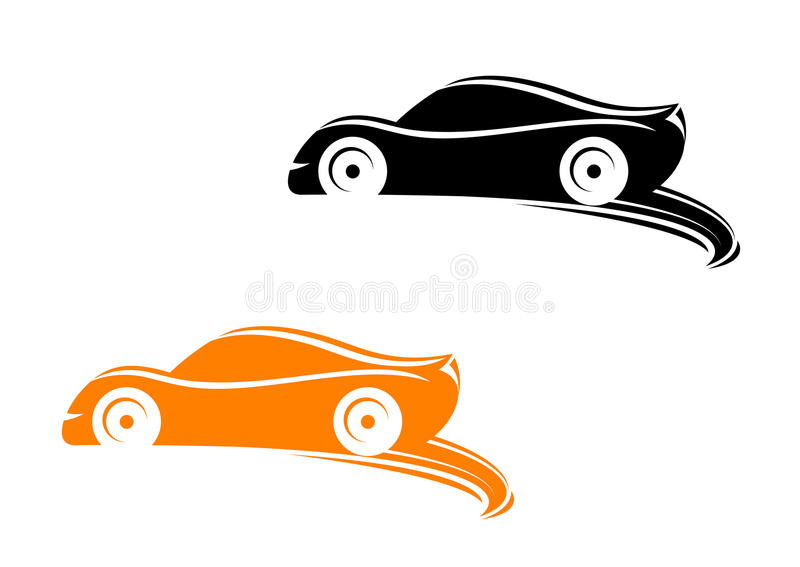 Download Rally racing cars stock vector. Image of black, automobile - 26881741