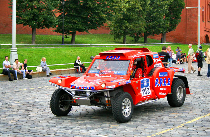 Download Rally Silkway 2011 editorial photography. Image of modern - 22171152