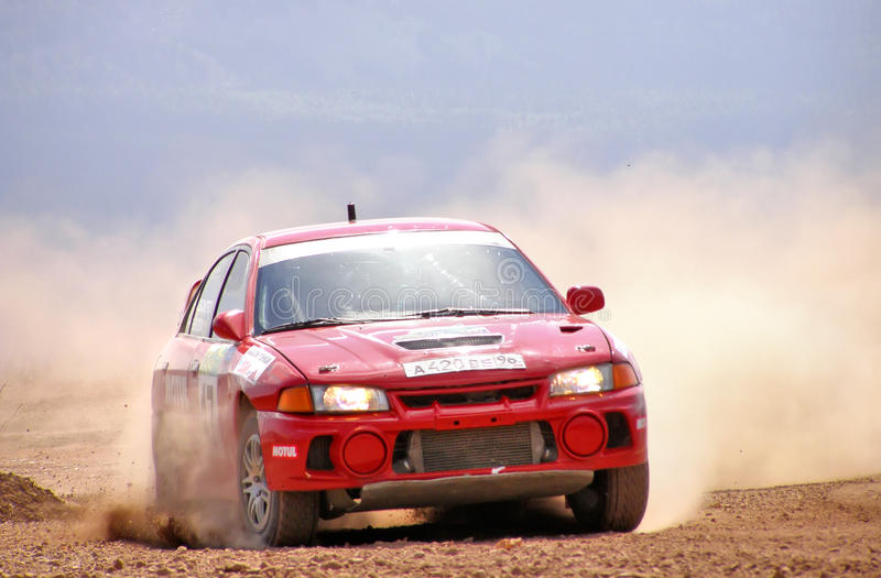 Download Rally Southern Ural 2007 editorial photography. Image of automobile - 23328237