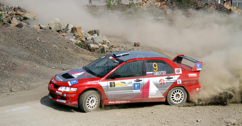 Rally Southern Ural 2010 royalty free stock photo