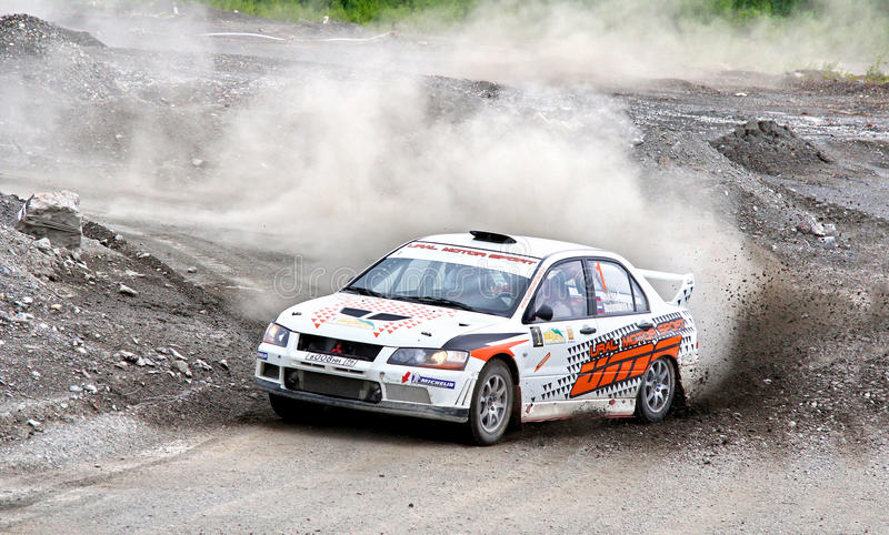Download Rally Southern Ural 2012 editorial stock photo. Image of road - 26610903