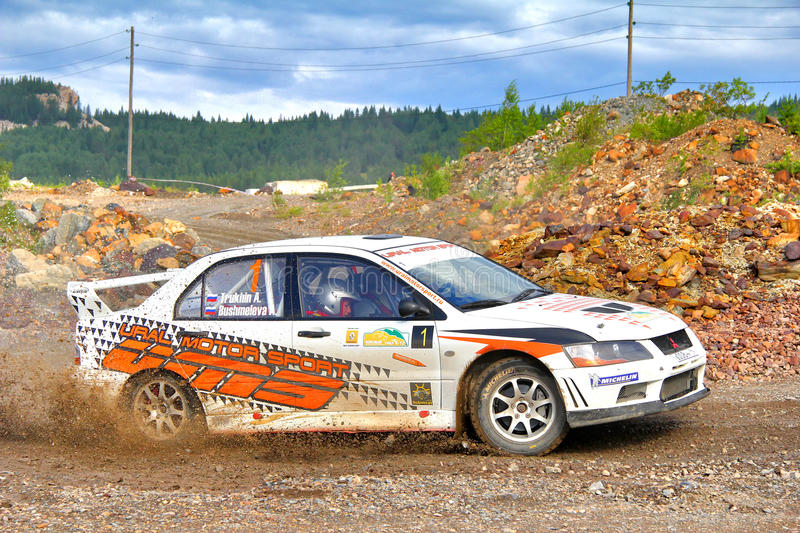 Download Rally Southern Ural 2012 editorial photo. Image of gravel - 26610976