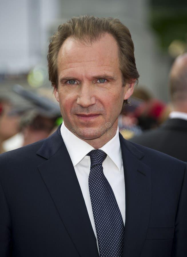 Ralph Fiennes imagens de stock