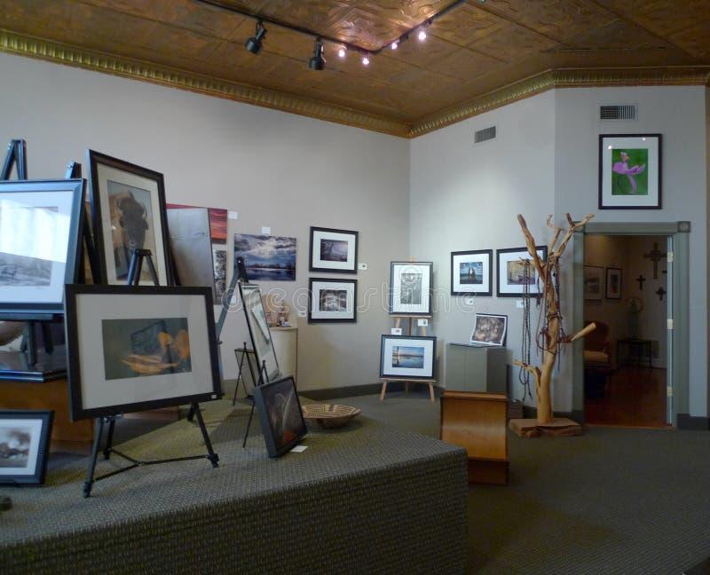 Ralph Irwin Studio, Van Buren, interior de Arkansas fotografía de archivo