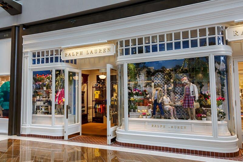 Ralph Lauren Designer Boutique imagem de stock royalty free
