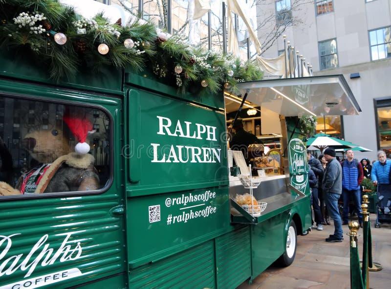 Ralph Lauren kawy ciężarówka obrazy stock