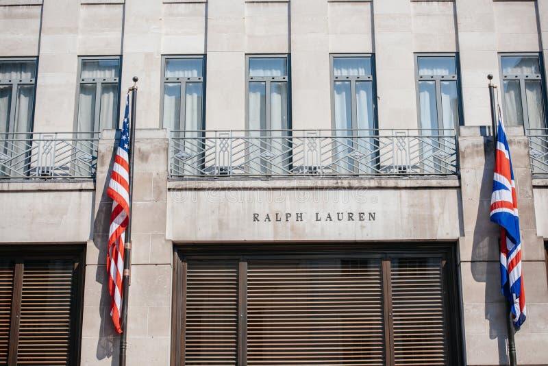 Ralph Lauren statku flagowego sklep zdjęcie stock