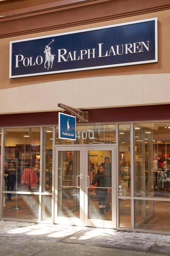 Ralph Lauren uttag fotografering för bildbyråer