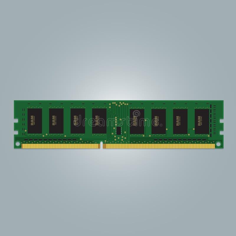 RAM компьютера стоковые изображения rf