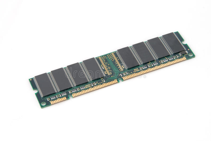 RAM. Electronic component for computers stock images