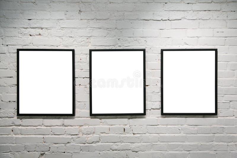 ram 3 czarny ' białe ściany fotografia royalty free