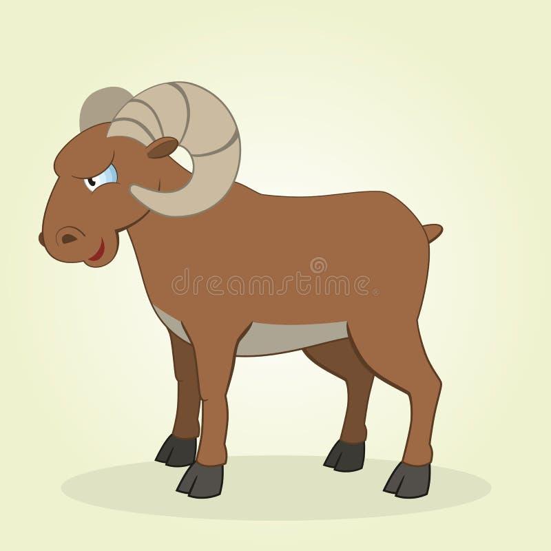 Ram stock de ilustración