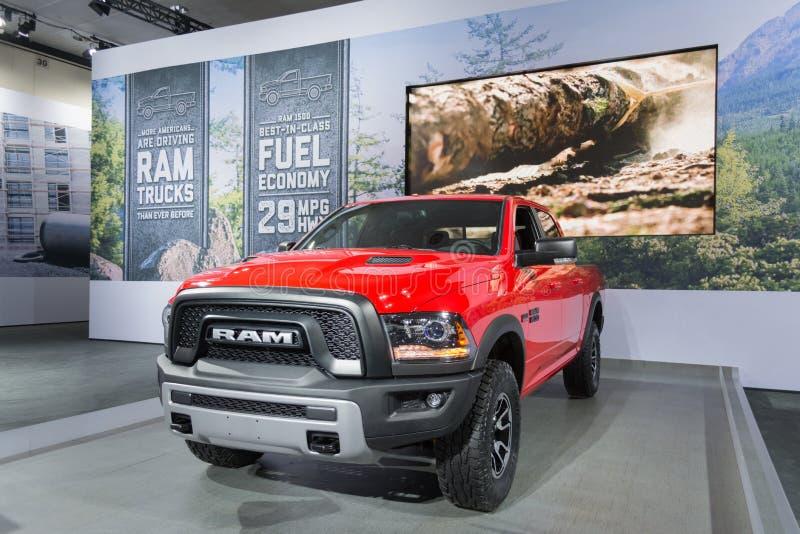 RAM 1500 2016 royalty-vrije stock afbeeldingen