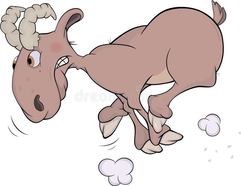 Ram. Cartoon