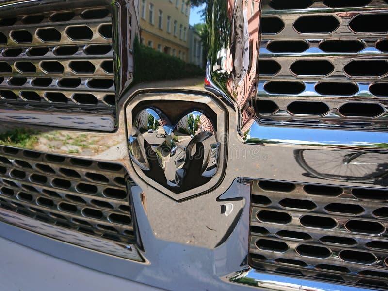 RAM 1500 ciężarówka obrazy stock