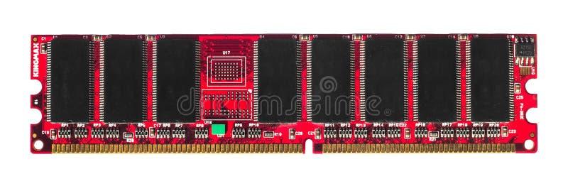 RAM d'isolement par rouge image stock