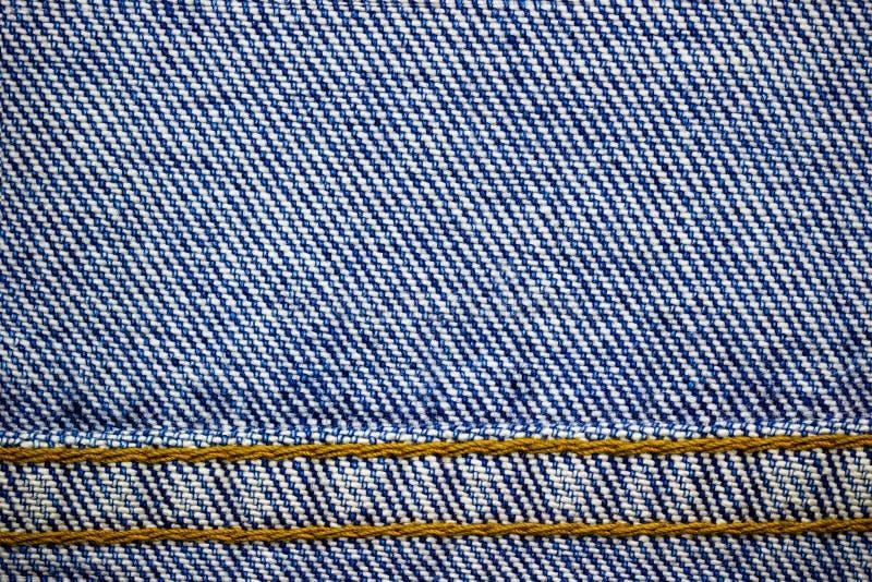 Ram eller gräns av jeanstyghäftklammeren royaltyfri bild