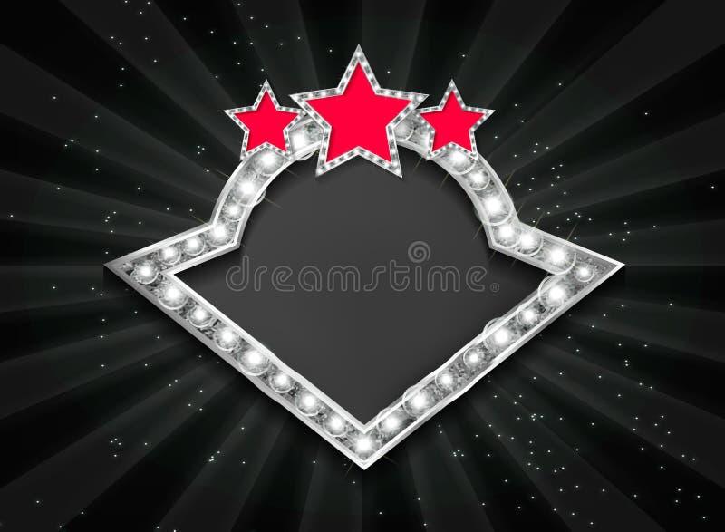 Ram för biosilverform royaltyfri illustrationer