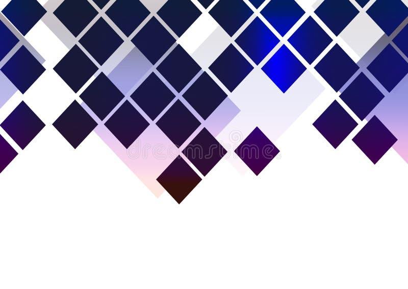 Ram för website för polygon för garnering för härligt baner för bakgrundsdesignabstrakt begrepp ljus royaltyfri illustrationer