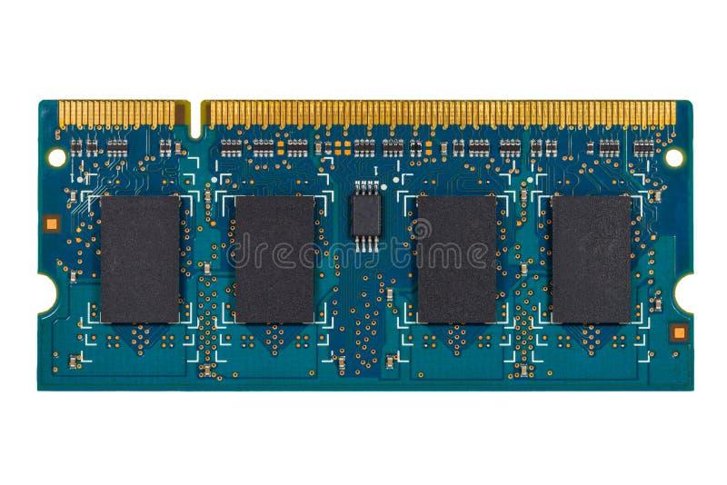 RAM-geheugen stock afbeeldingen