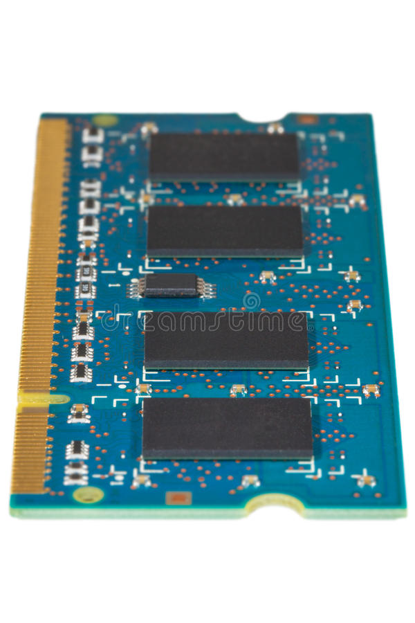 RAM-geheugen stock afbeelding