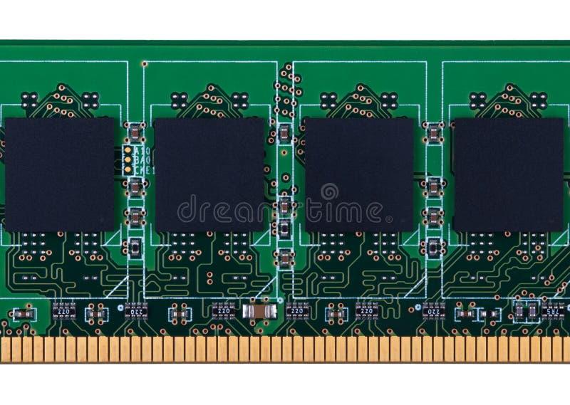 RAM-geheugenmodule royalty-vrije stock afbeeldingen