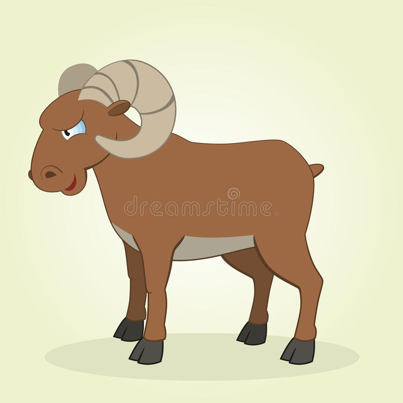 Ram stock illustration