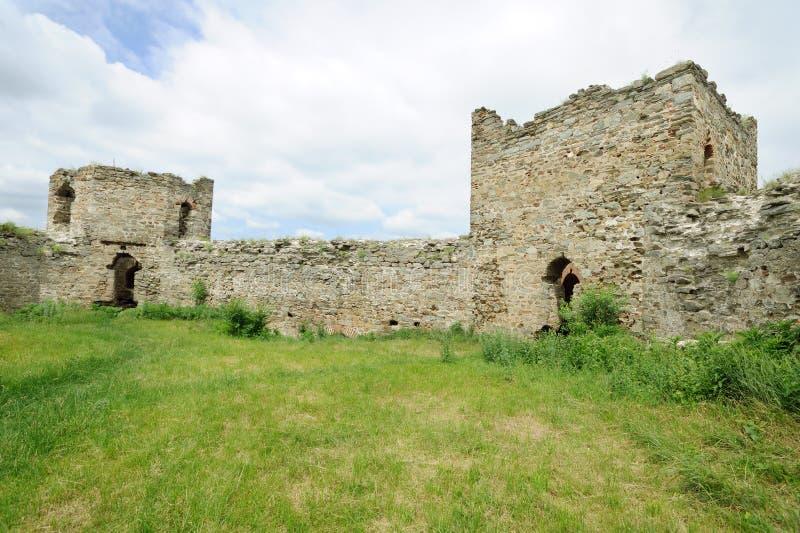 RAM medieval vieja de la fortaleza foto de archivo