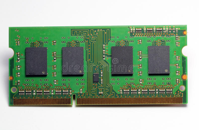 Download Computer Hardware, RAM Memory Card. Stock Image - Image: 37120617