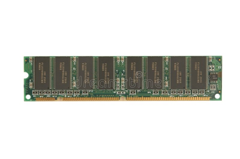 RAM memory module royalty free stock photos