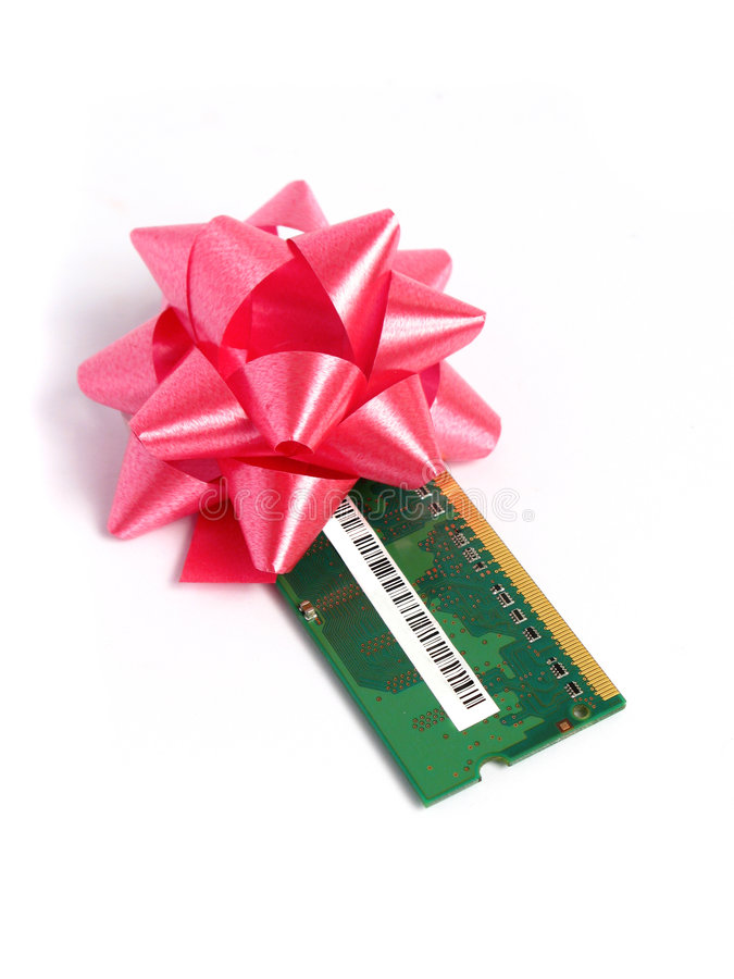 Download Ram memory module gift stock image. Image of faster, computer - 4753451