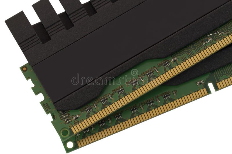 Download RAM modules close up stock photo. Image of connection - 17897522