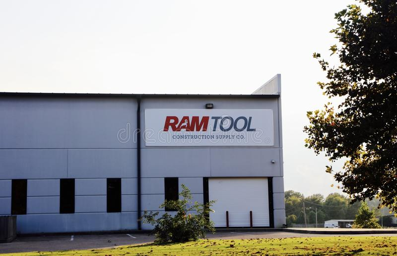Ram Tool Construction Supply Company 图库摄影