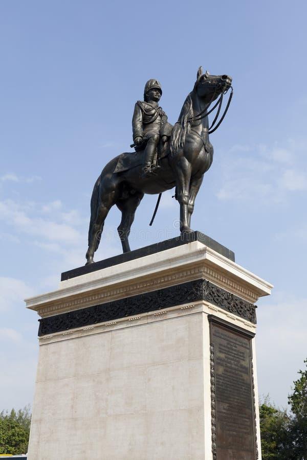 Rama五,泰国国王的纪念碑 库存图片