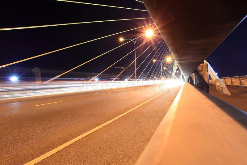 Rama 8 Brücke - Bangkok stockfoto