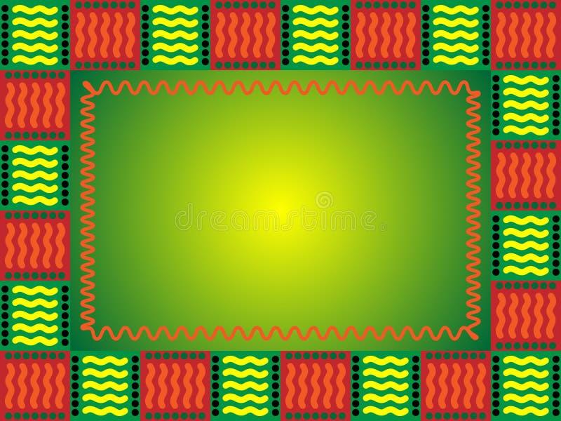 rama afryki ilustracji